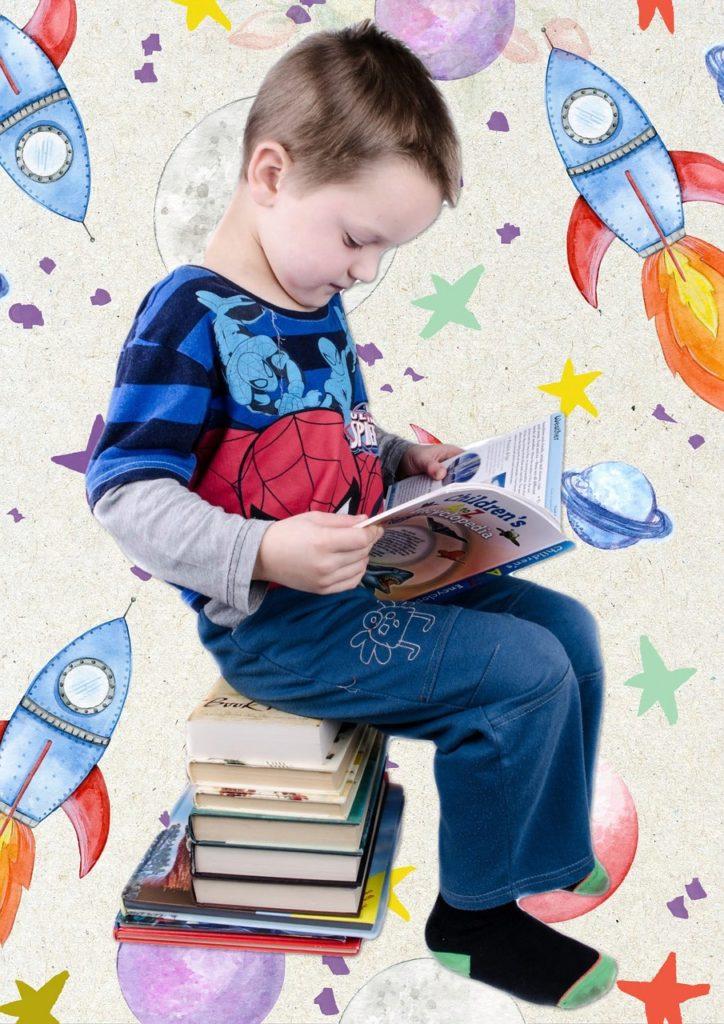 copil care citeste